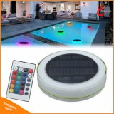 RGB Solar Swimming Pool LED Light Outdoor IP68 Solar Powered Floating LED Decoration Water Light for Garden Party Wedding