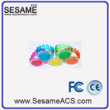 Waterproof and Durable Silica Gel Access Control RFID Wristband with Reasonable Price (S-WB1D)