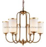 Glass Chandelier Pendant Lamp (SL2167-6)