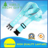 High Quality Custom Cmyk Transfer/Jacquard Lanyard for Luggage Strap