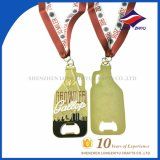 Customized Metal Opener Medal Award with Gold Plated