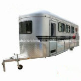 3 Horse Trailers Slant Load Hot Sale with Adr