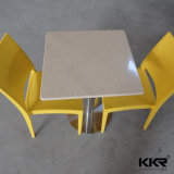 Wholesale Marble Stone Square Restaurant Dining Table