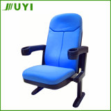 Jy-907 Folding Cover Fabric Plastic Cheap Theater Cinema Chair