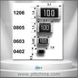 SMD Resistor, Metal Film Resistor, Carbon Film Resistor, 0201 0402 0603 0805 1206 1210 2512 etc Size