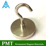 N42 Magnetic Hook with NdFeB Material and Nickel and Chromium Coating