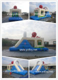 Funny Inflatable Slide with Obstacle Combo for Amusement Park
