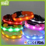 Silk Net Lamp Strap Collar, LED Pet Collar