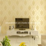Shiny Customized Embossed Wall Panel Paper Sticker