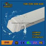 20W 5 Years Warranty IP65 Waterproof LED Tri-Proof Light