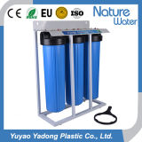3 Stage 20′′ Big Blue Home Pure Water Filter with Steel Shelf