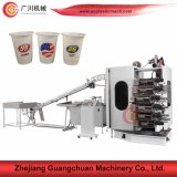 Plastic Container Offset Printing Machine with Four Six Color