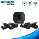 Smartphone Bluetooth TPMS Tire Pressure Monitoring System with Internal Tire Sensor for Car, Van, Four-Wheel Small and Medium Size Vehicle