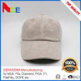 High Quality Warm Unisex Winter Baseball Solid Woolen Gorras Snapback Cap Factory