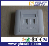 Double Aperture Panel Wall Outlet