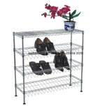 4 Layers Iron DIY Household Shoe Rack Organizer (CJ-C1120)