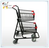 American Double Supermarket Trolley Shopping Cart Shopping Trolley