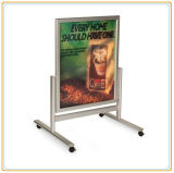 Mobile Aluminum Poster Board a Frame Outdoor Display Stand (E06P9)