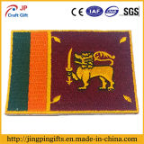 2017 Hot Sale Custom Embroidery Badge, High Quality Fabric Patch