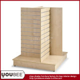 High End Wooden Clothing Gondola Shelf From Factory