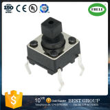 The Touch Switch 6*6*7.3 Square Pin High Temperature Switch Protection