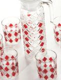 High Glass Drinking Set (P-05001L/BHA)