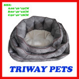 High Quaulity Cheap Snuggle Dog Cat Pet Beds (WY161074-2A/C)