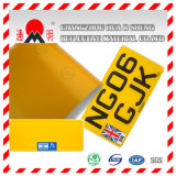 Car′s Number (License) Plate Grade Reflective Sheeting (TM8200)