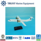 Atr72-500 18cm Decorative Resin Airplane Working Model