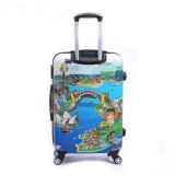 Hard Shell Luggage 4-Wheel Trolley Bag Set