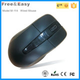 1.0 USD Cheap 3 Keys Wired USB Optical Mouse