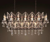 Rococo Style Crystal Chandelier Lamp (WHG-649)
