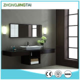 Full Bullnose Countertop Edging and Artificial Marble Stone Vanity Top with Sink