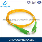 Factory Supply Fiber Optic Cable High Quality All Type St FC Sc LC Single Mode Multi Mode Fiber Optical Patch Cord Price List
