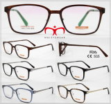 Tr90 Optical Frame with Metal Temple in Stock (9035)