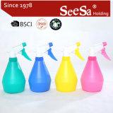 500ml Plastic PE Sprayer Bottle/ Hand Pressure Trigger Sprayer (SX-2056-2)