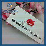 UV Printing Gleamy Effect Paper Clothing Tag (CMG-082)