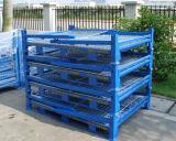 Warehosue Foldable Steel Wire Mesh Storage Cage