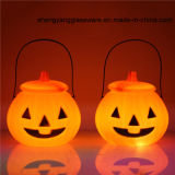 Hot Sell Pumpkin Candle Lamp Festival Decoration Glass Crafts Candle Holder