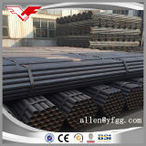 ASTM A53 Black Painted ERW Hollow Section Carbon Steel Pipes