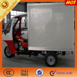 China 200cc Water Cooler Enclosed Cabin Box Tricycle