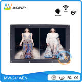 24 Inch Android 4.4 Multi Touch Screen Kiosk Android Network LCD Display