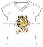 Fashion Cotton Ladies Printed T-Shirt