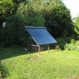 Customized DIY Heat Pipe Solar Collector