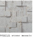 Nature Stone Mosaic for The Television Background Wall Tile (FYSSC120)
