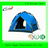 100% Polyester 4 Person Outdoor Rainproof Waterproof Camping Tent