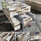 High End Coffee Brown Mixed Travertie Culture Stacked Stone