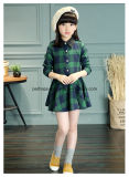 High Quality Long-Sleeve Lovely Blouse Dress Children Wear