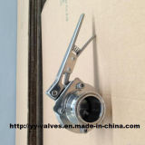 Triclamp Butterfly Valve with Stainless Steel Handle