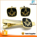 Made in China Pinstar Factory Cufflinks Best Gift Set Man′s Use